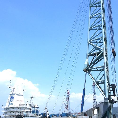 亚洲最大的打桩船正式交付使用