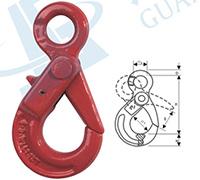 G80欧式眼型安全钩
